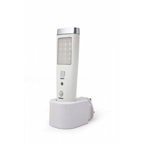 LED Λάμπα Φορητή με Αισθητήρα για Πρίζα